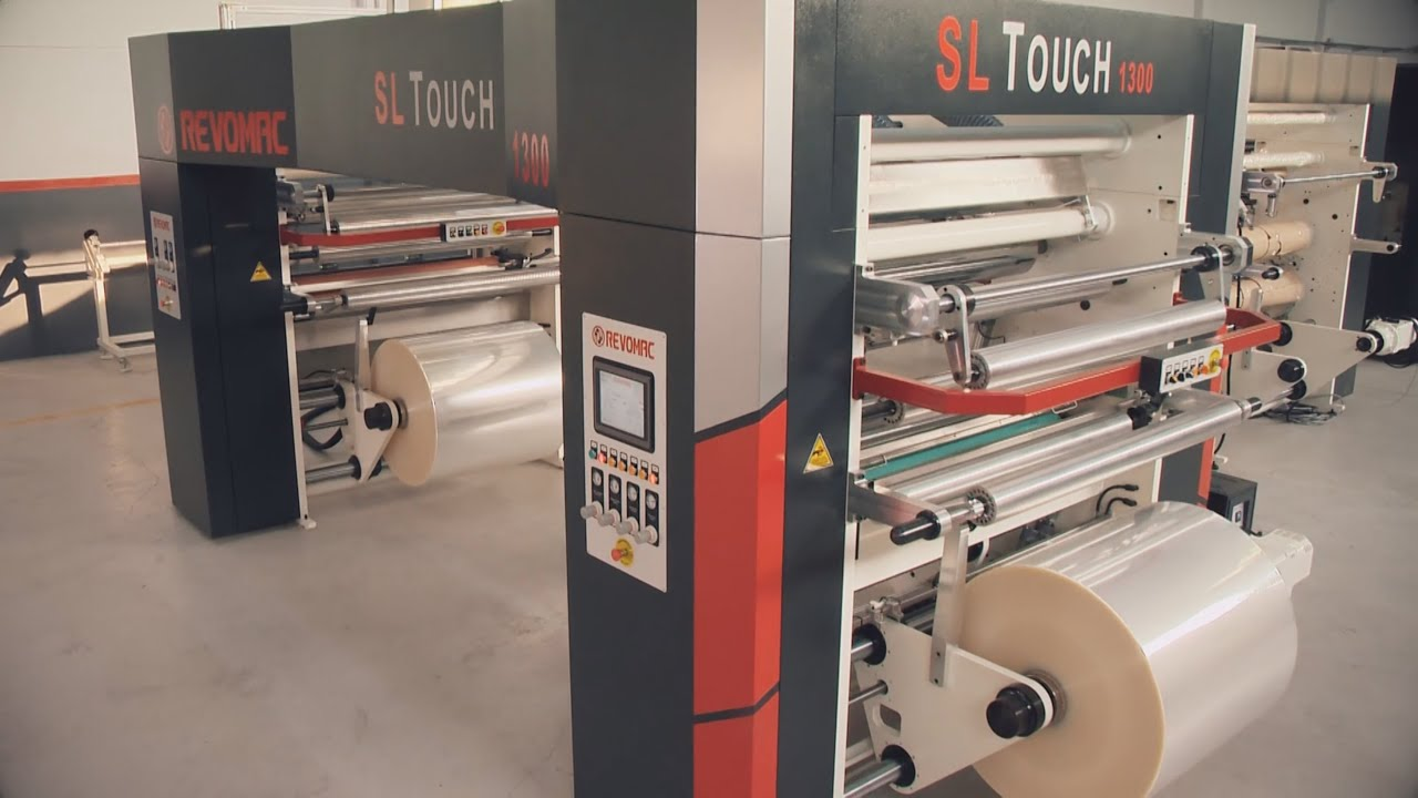 REVOMAC Solventless Lamination Machine SL TOUCH